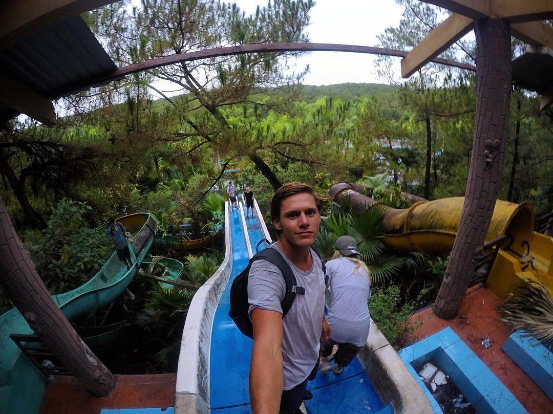Đường ống nước từng là nơi ở của cá sấu