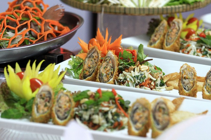 Những món ngon được các thí sinh thể hiện nhằm tôn vinh vẻ đẹp của nghề đầu bếp, với mục đích phát triển du lịch ẩm thực truyền thống của Việt Nam đến với du khách.