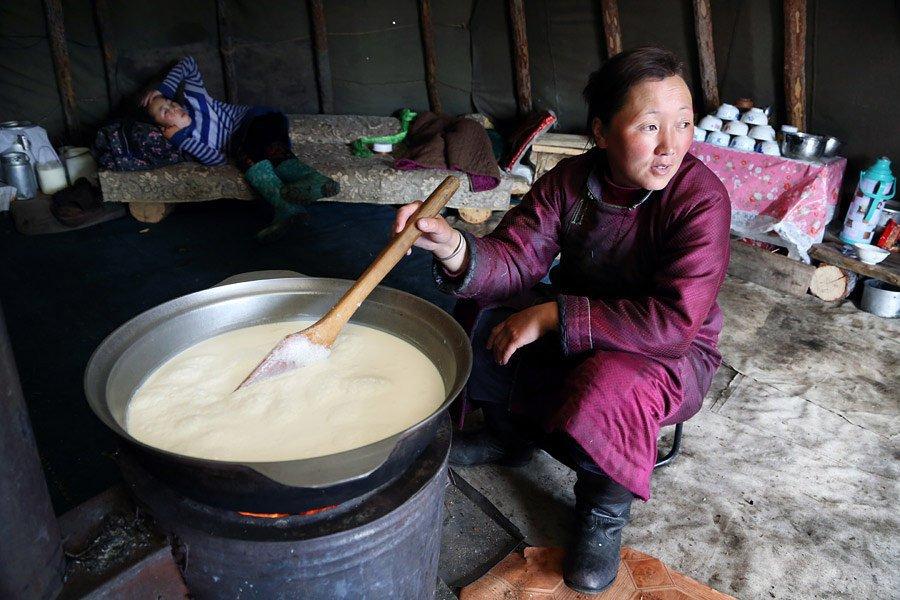 Họ sống dựa vào đàn tuần lộc, từ bơ, sữa tới vận chuyển. Ngoài ra, họ cũng tự làm các dụng cụ và vải vóc để may trang phục.
