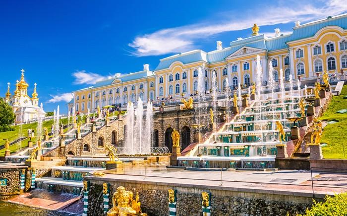 Grand Cascade, Saint Petersburg, Nga