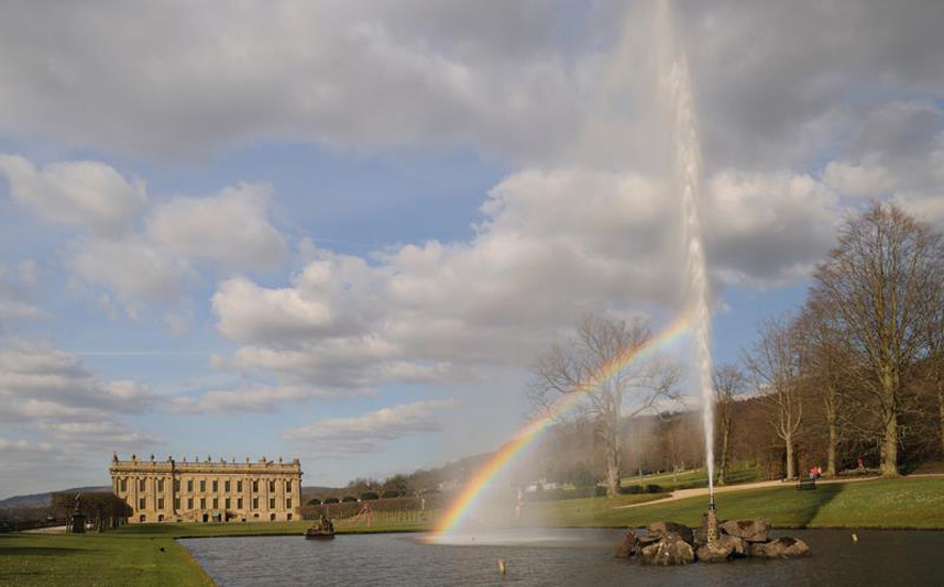 Chatsworth House, Anh