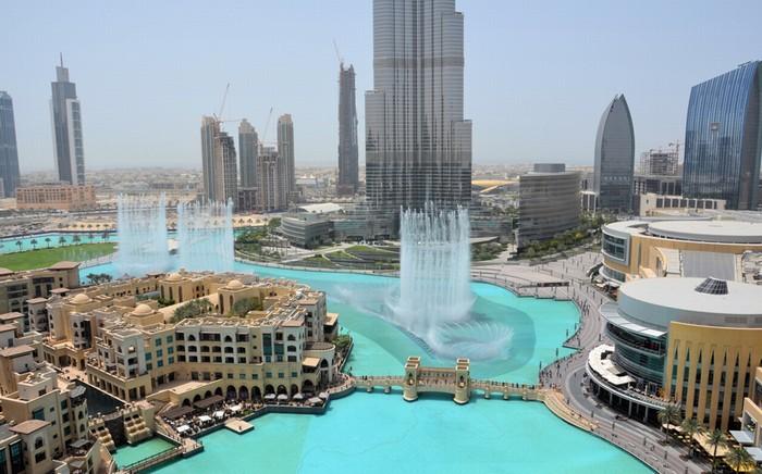 Đài phun nước ở Dubai, UAE