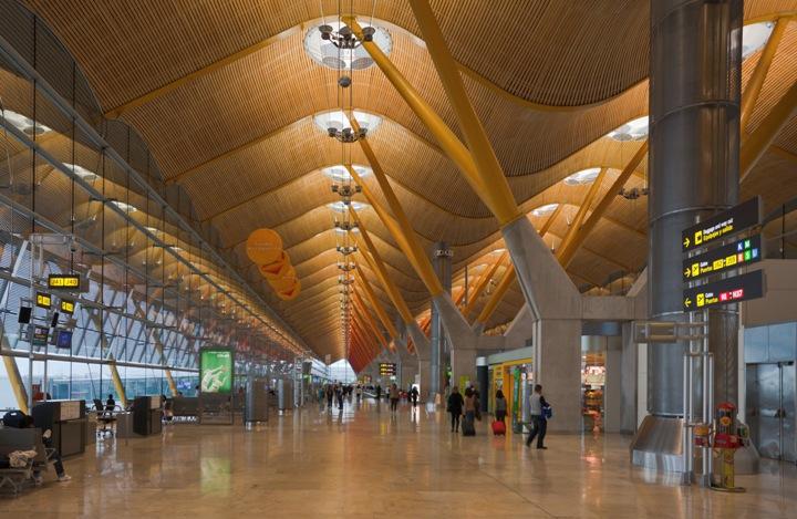 Sân bay Barajas, Madrid, Tây Ban Nha