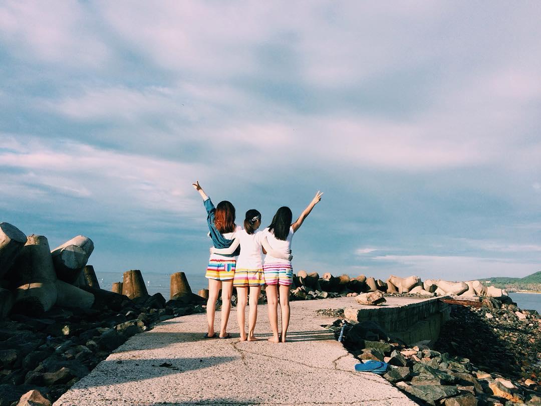Say trong dạ khúc của biển và đá - Ảnh: @huyenvuminie
