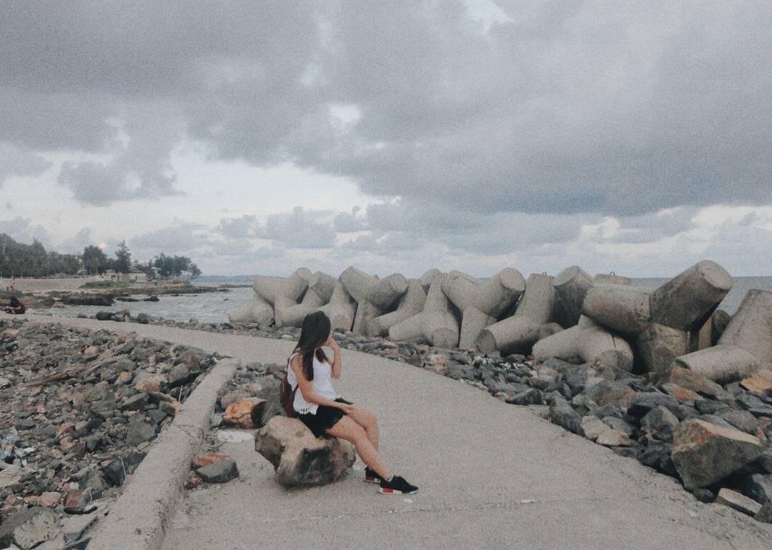 Gió lồng lộng cuốn trôi ưu phiền - Ảnh: @baongoc272