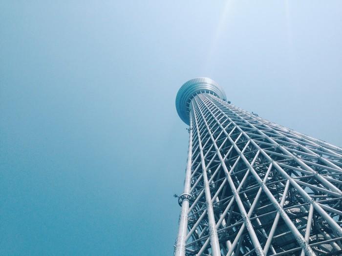 Skytree là ngọn tháp cao nhất Nhật Bản