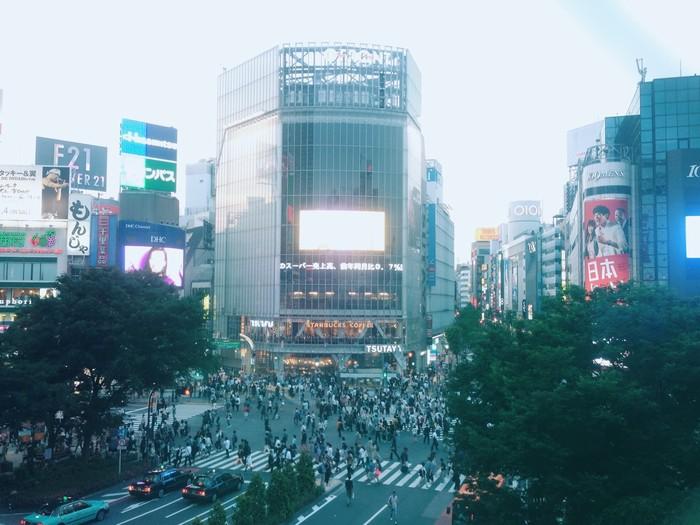 Nút giao thông nhộn nhịp của Shibuya