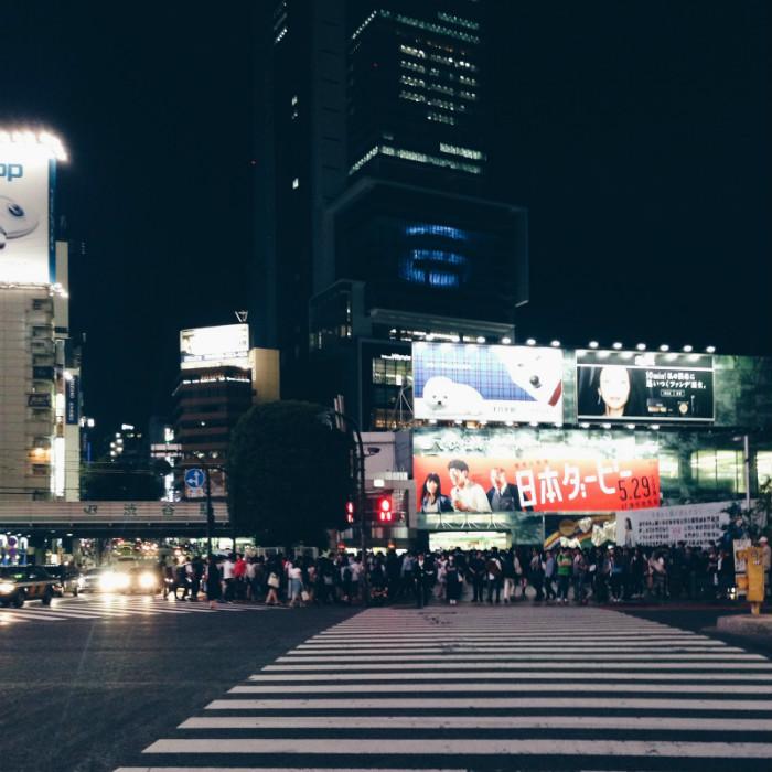 Một góc ngã tư Shibuya sầm uất