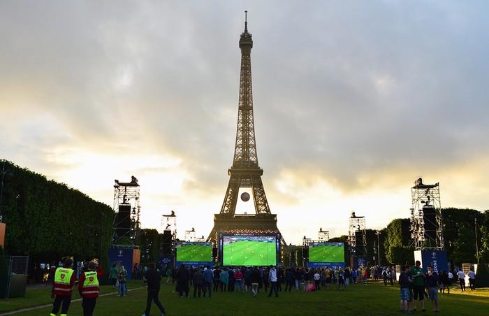 Nắng Paris rực rỡ cung Euro 2016