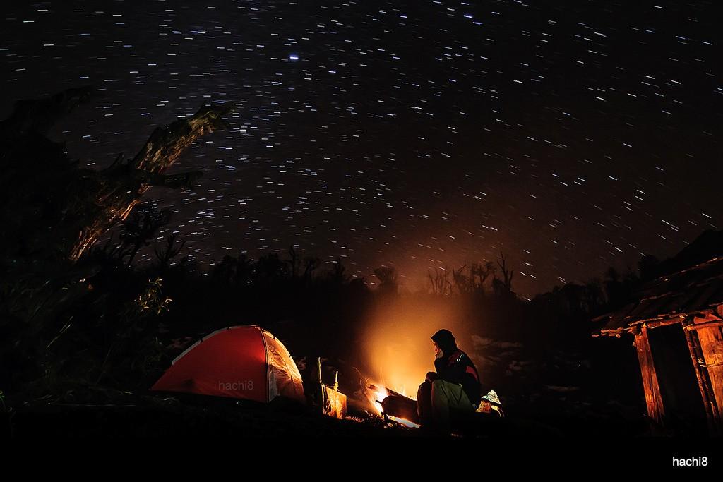 Trải qua một đêm thơ mộng thế này ở núi Muối thật chẳng còn gì bằng
