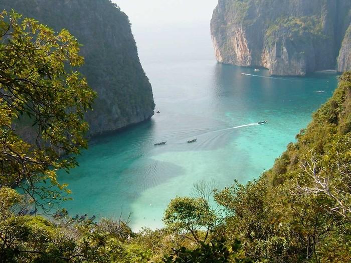 Một trong những hòn đảo nhỏ của quần đảo Mergui