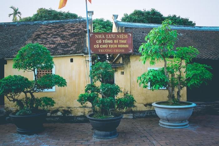 Nơi tưởng niệm cố Tổng bí thư Trường Chinh