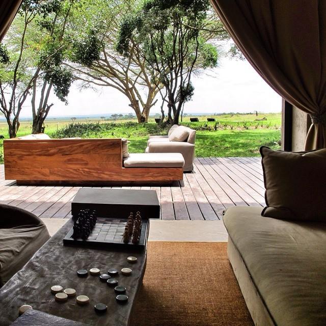 Nhìn ra khung cảnh Masai Mara