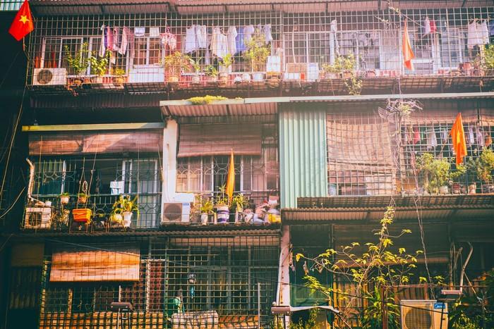 Những căn chung cư cổ kính Hà Nội đẹp gần gũi