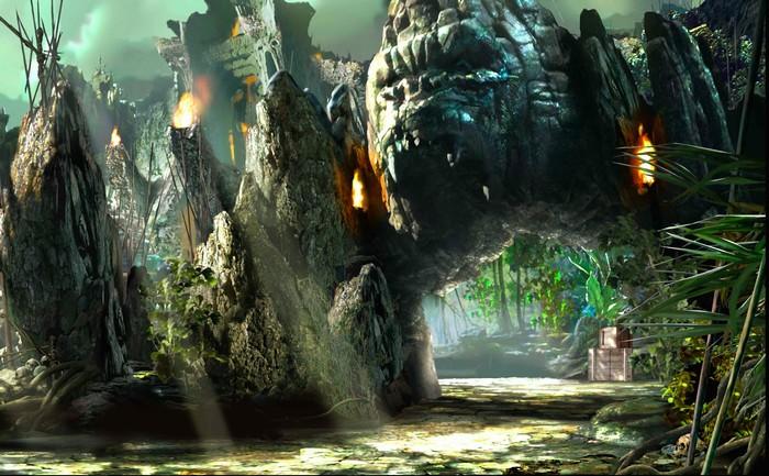 Một cảnh trong phim được quay tại Hạ Long
