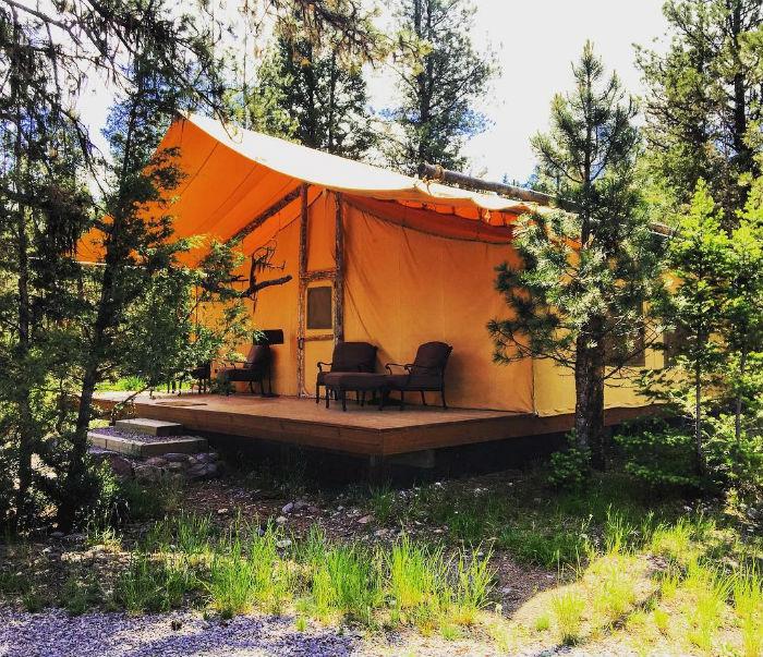 Trải nghiệm sự tiện nghi trong các căn lều