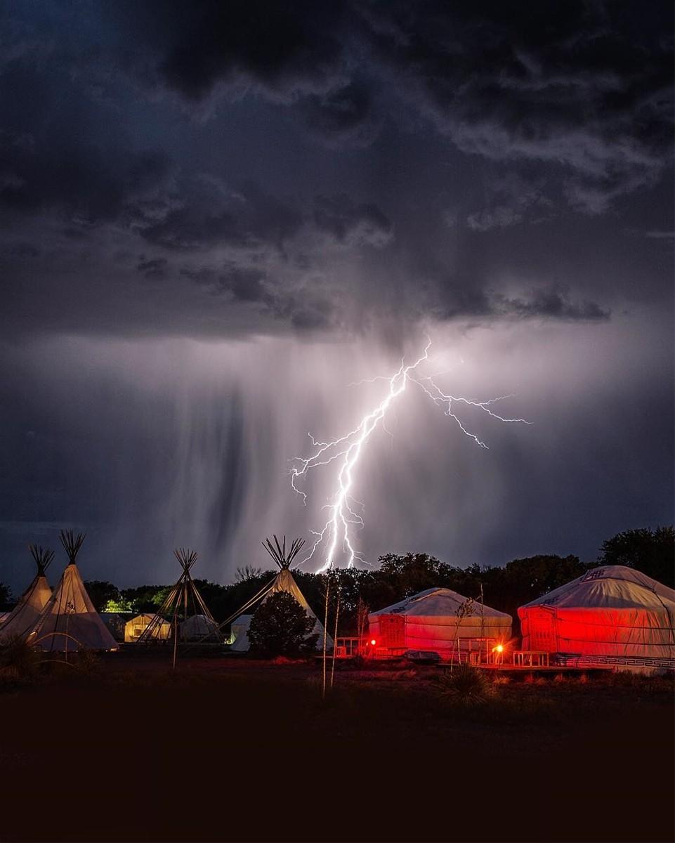 Khu cắm trại du mục El Cosmico