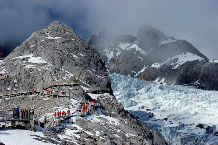 Chinh phục đỉnh núi Ngọc Long Tuyết Sơn