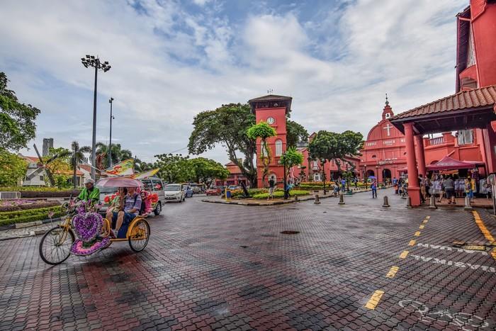 Say lòng phố cổ Malacca