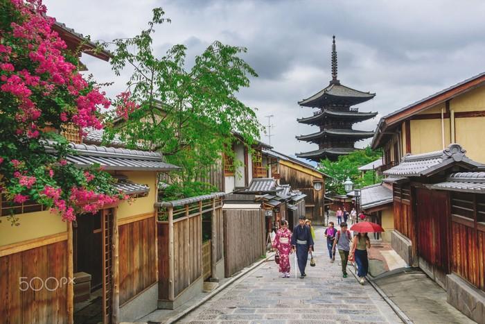 Những trải nghiệm đáng nhớ giữa phố cổ Kyoto
