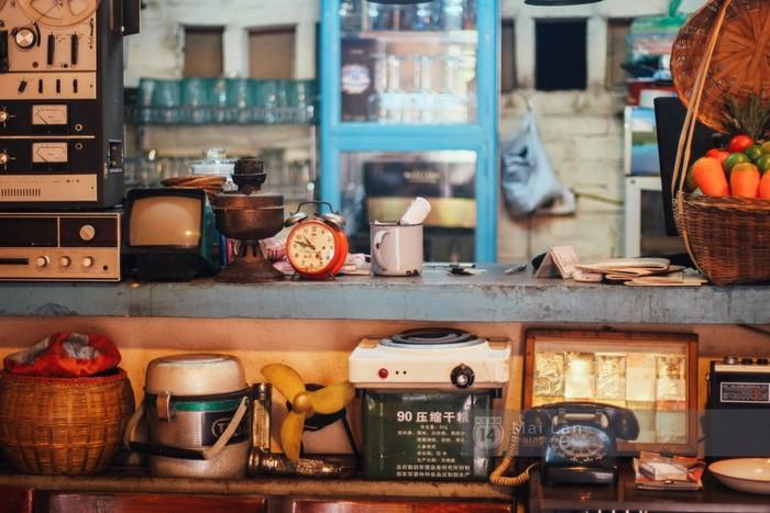 Ăn hoài niệm, ngắm ngày xưa với những quán cơm kiểu bao cấp ở Hà Nội - Ảnh 3.