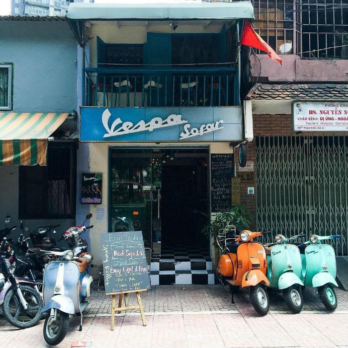 Sáng Sài Gòn dễ thương ghê