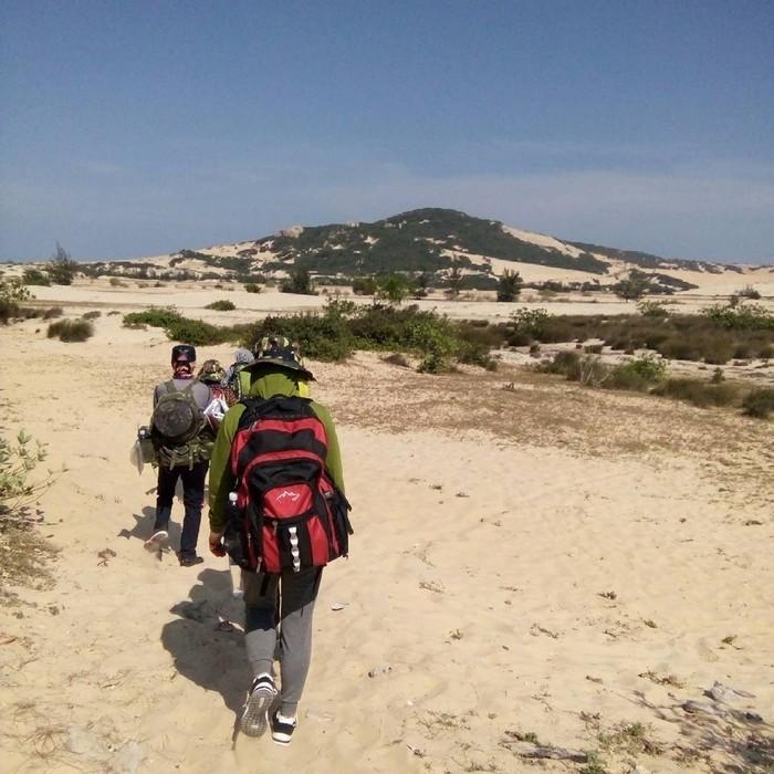 Hàng giờ trekking