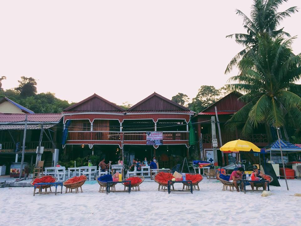 Cảnh quán xá vô cùng tuyệt đẹp ở Kohrong.