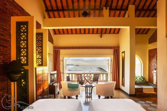 63 phòng nghỉ ở Avani đều hướng biển