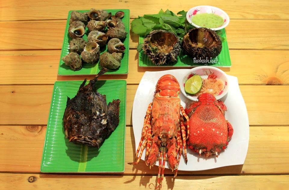 Bữa ăn ngon vừa cực rẻ ở Lý Sơn