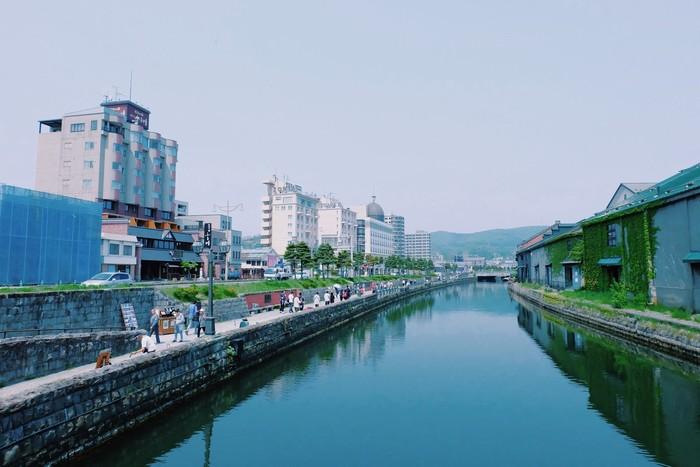 Kênh đào Otaru là góc chụp ảnh ưa thích của du khách