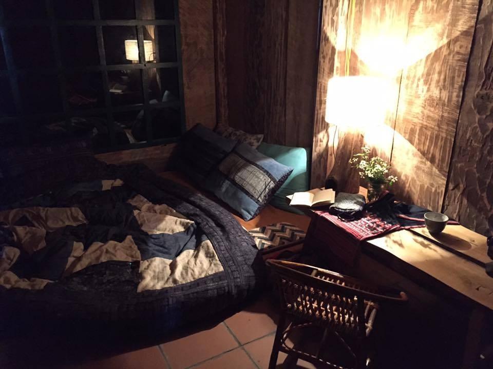Chiếc giường nhỏ ấm cúng