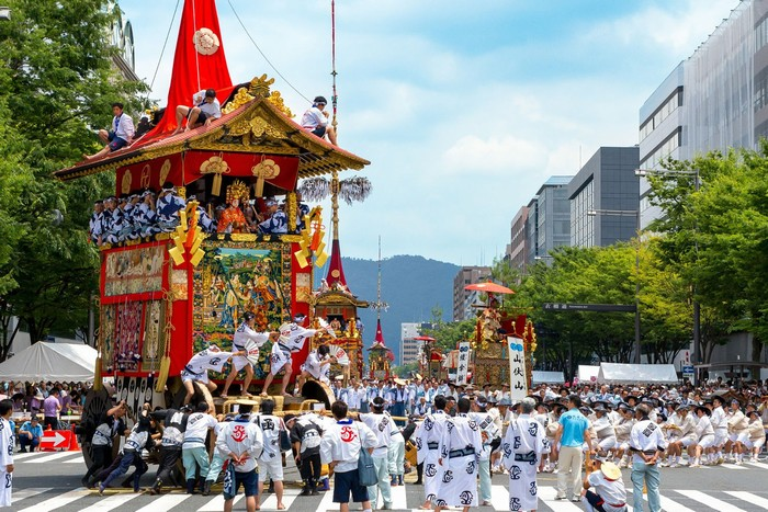 Gion Matsuri là 1 trong 3 lễ hội lớn nhất cả nước