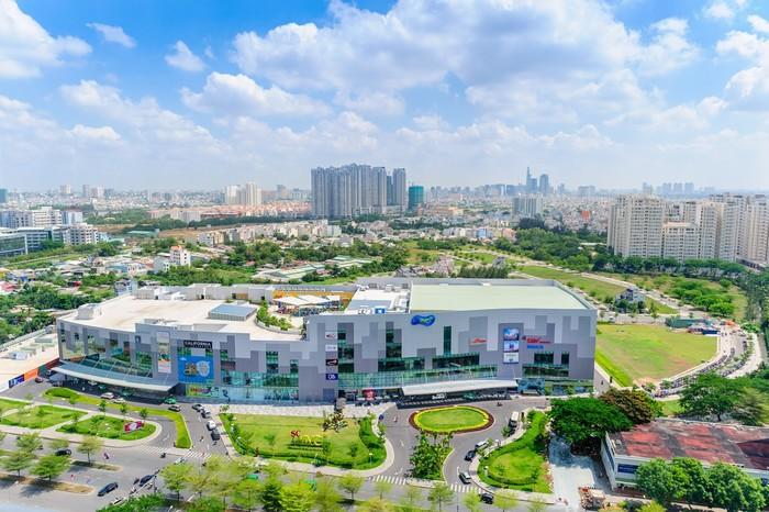 SC VivoCity - một trong những trung tâm thương mại lớn ở Sài thành