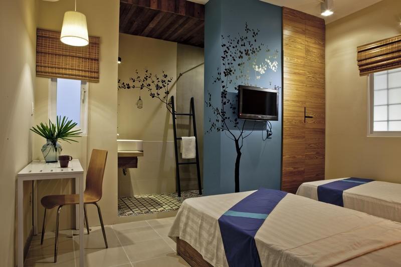 Căn phòng nhỏ ở Town House thích hợp cho dân du lịch bụi