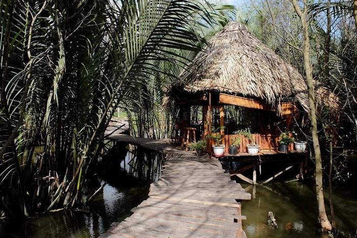 Homestay nổi trên mặt nước độc đáo ở ngoại ô Sài thành