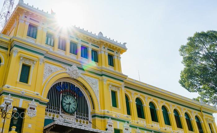 Nắng vàng khiến Sài Gòn lấp lánh, căng tràn sức sống