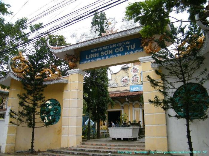 Linh Sơn Cổ Tự - ngôi chùa 'lớn tuổi' nhất ở Vũng Tàu