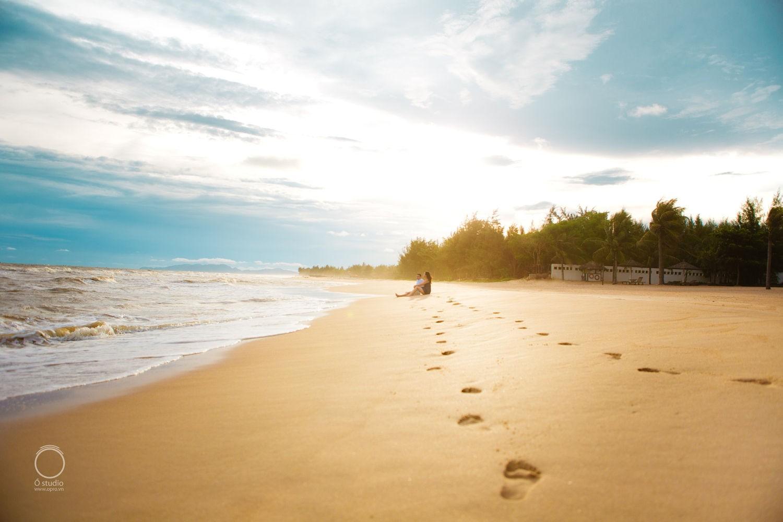Thả mình cùng nắng nhạt biển xanh