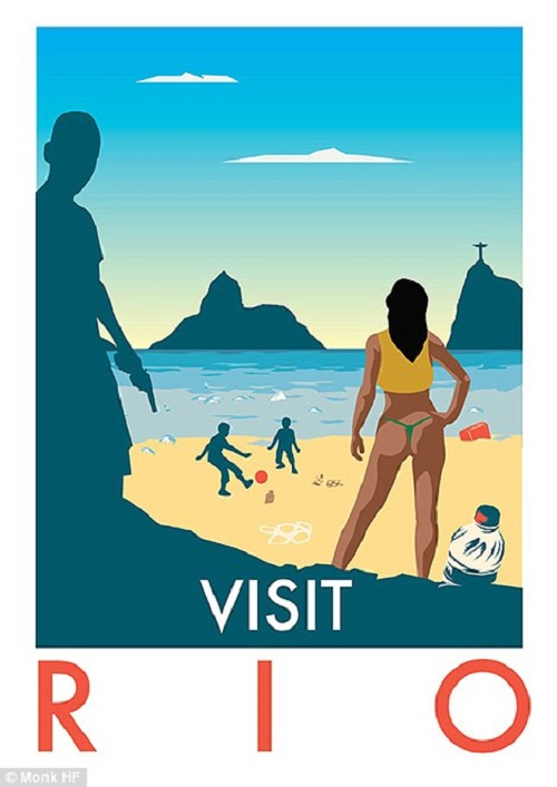 Thế vận hội mùa Hè 2016 đang diễn ra tại Rio De Janeiro (Brazil) là cơ hội cho du khách khám phá những bãi biển vừa hoang sơ, vừa sôi động của xứ sở Nam Mỹ.