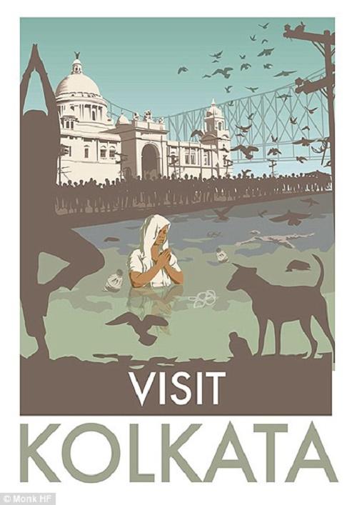 Kolkata là thủ phủ của bang Tây Bengal, ở Đông Ấn Độ.