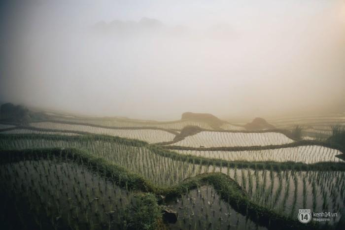 Pù Luông có khí hậu mát mẻ với mây sương khi sáng sớm, và hửng nắng lúc về trưa.