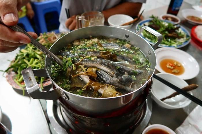 Lẩu cá kèo mang đến hương vị miền Tây cho thủ đô