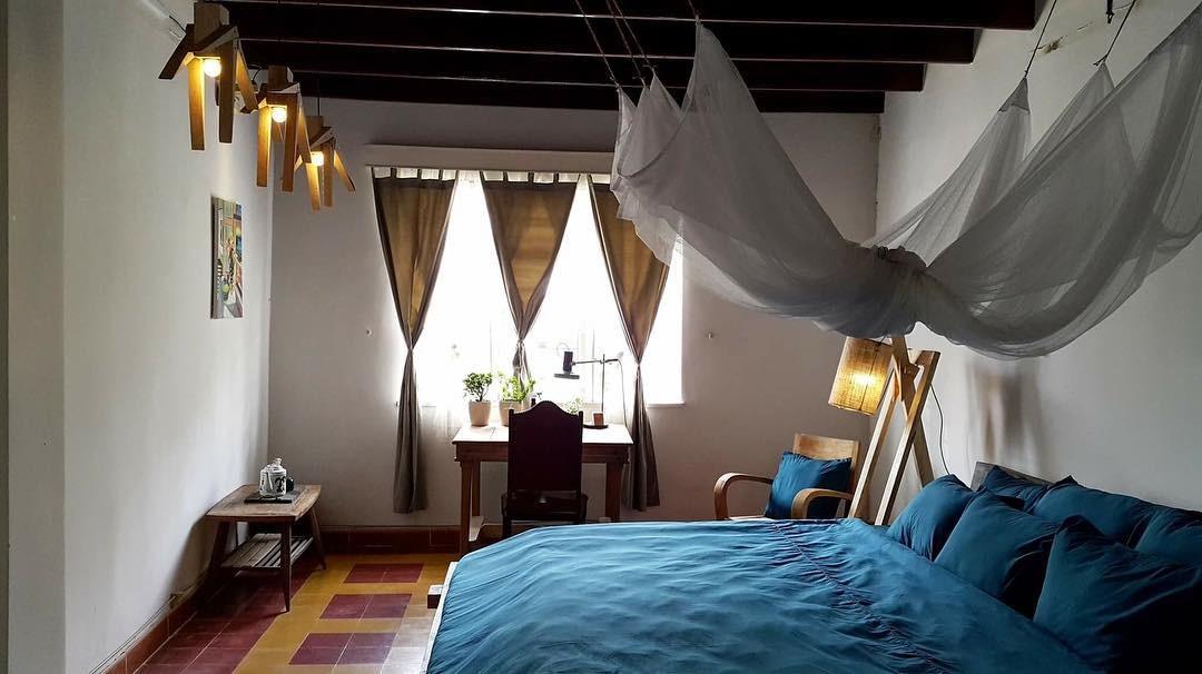 Phòng ngủ cổ điển của Second House Đà Lạt