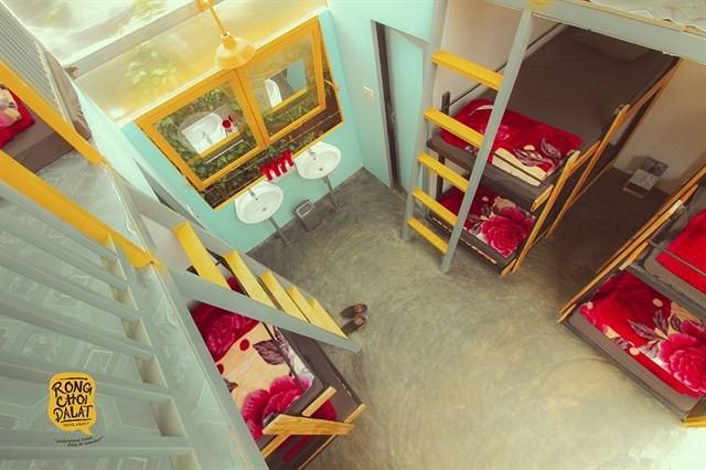 Phòng ngủ kiểu dorm của Légume