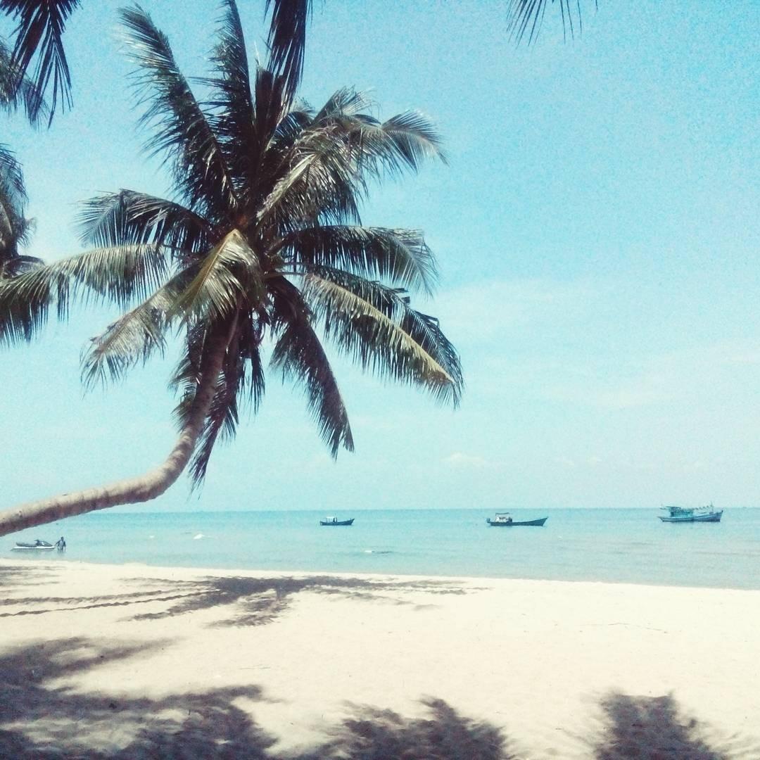 Bình yên với biển xanh