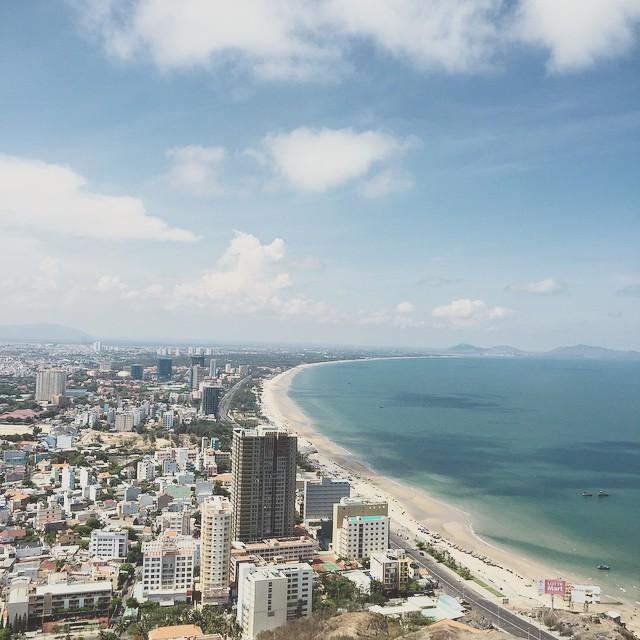 Cung đường biển Vũng Tàu tuyệt đẹp