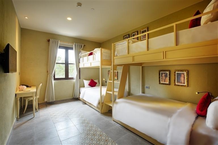 Thiết kế thanh lịch trong phòng ngủ của Mercure Bana Hills French Village