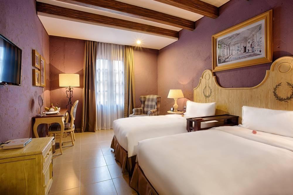 Nội thất Mercure Bana Hills French Village được tạo nên từ những đường nét thanh lịch trang nhã của kiến trúc Pháp thế kỷ 19