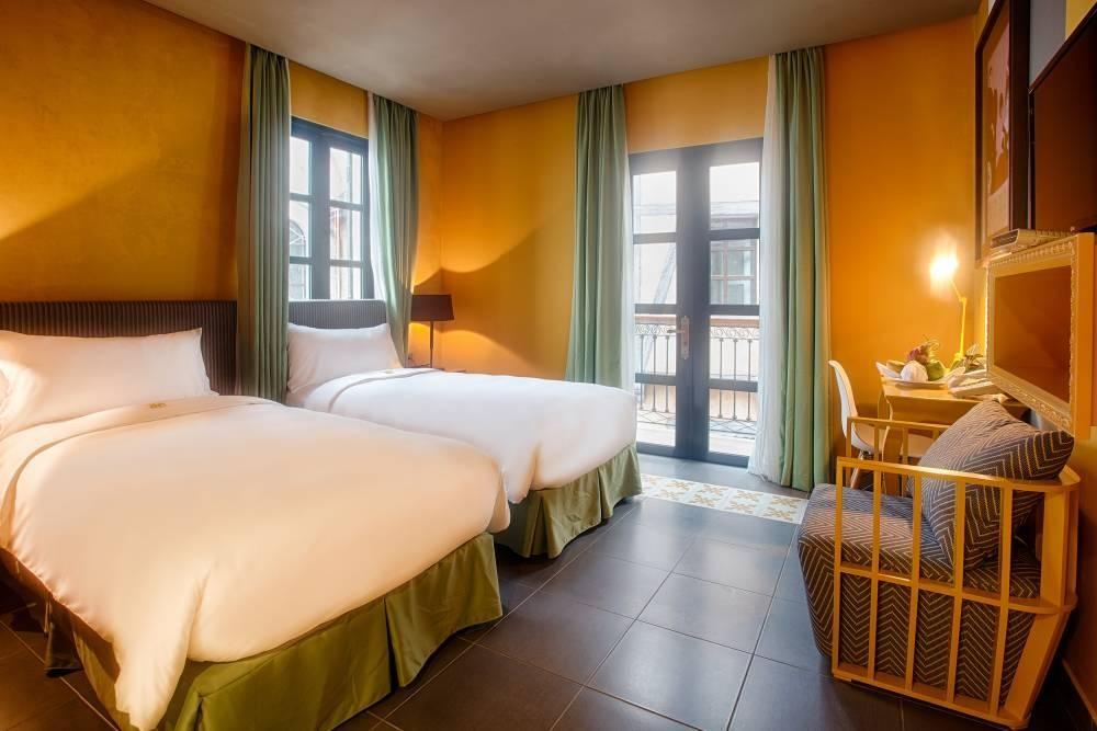 Mọi căn phòng tại Mercure Bana Hills Frecnh Village đều có tầm nhìn ra Làng Pháp – Frecnch Village
